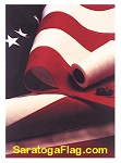 USA FLAGS (Poly-Canvas) - 10x15ft